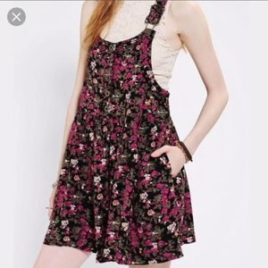 Kimchi Blue Floral Overall Dress